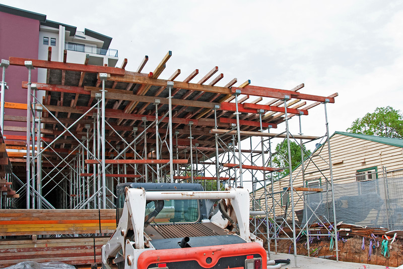 Construction Progress Units Beane St. #25 of - An ongoing photographic building record.