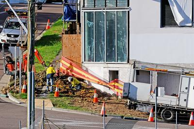 Building progress 214. 47 Beane St. Gosford. March, 2019.