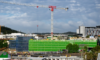 Gosford Hospital building progress H68ed November 2018.