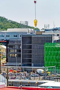 Gosford Hospital building progress December 20, 2018.  (h78ed)