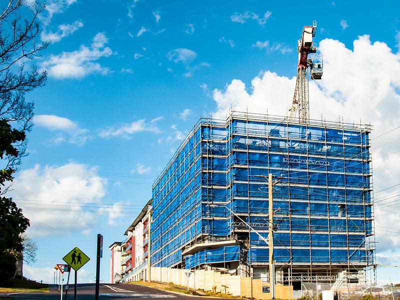 Blue Sky Building Development, September 2018. (ne)