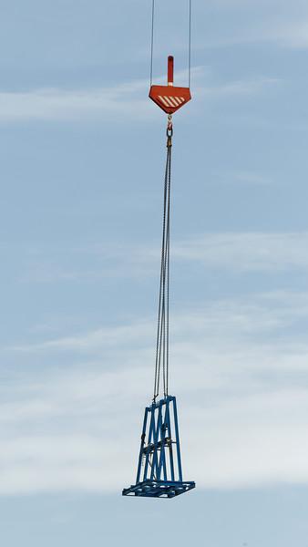 Working construction crane. Update ne170 . Gosford.