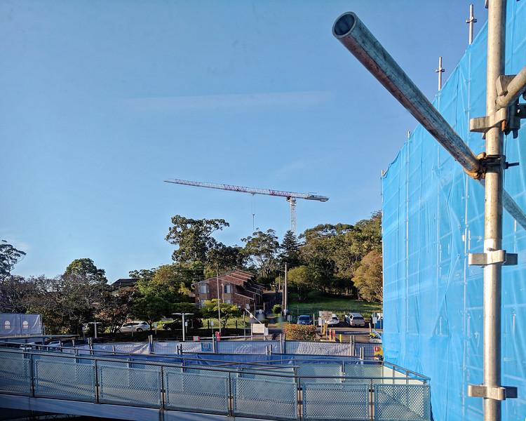 Gosford Hospital building progress H57ed October 2018.