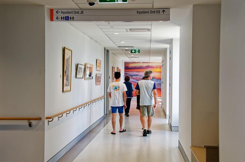 Gosford Hospital building progress H37ed September 2018.
