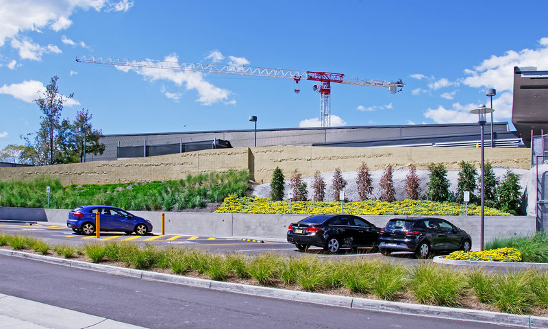 Gosford Hospital building progress H41ed September 2018.