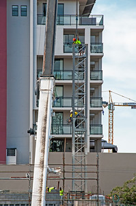 Erecting a Tower Crane.#10. of a 33+ Shot Photo series.
