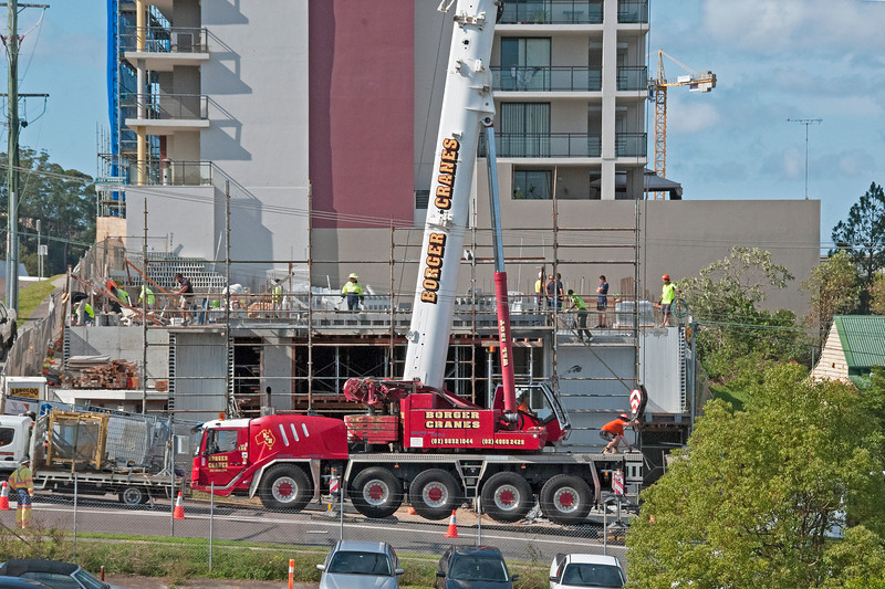Building a Tower Crane. #3 of a 33+ Shot Photo series.