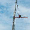 Erecting a Tower Crane. #23. of a 33+ Shot Photo series.