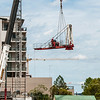 Erecting a Tower Crane. #22. of a 33+ Shot Photo series.