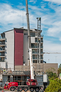 Erecting a Tower Crane. #12. of a 33+ Shot Photo series.