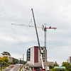 Erecting a Tower Crane. #35. of a 33+ Shot Photo series.
