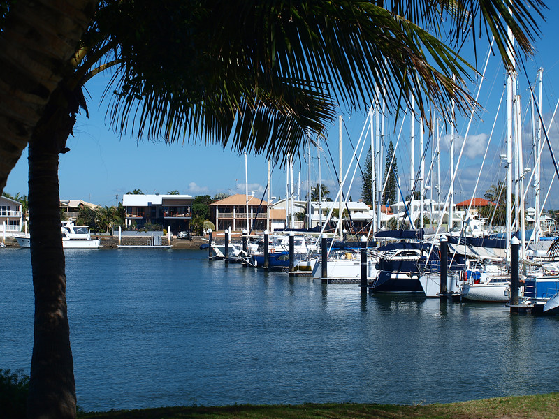 Nautical Marina scene. Mooloolaba.