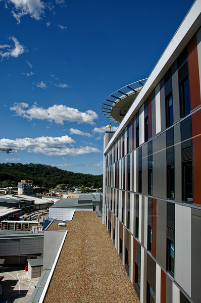Gosford Hospital building progress H35ed September 2018.