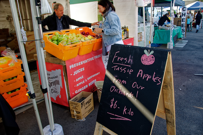Gosford City Farmers Market Day April, 2017