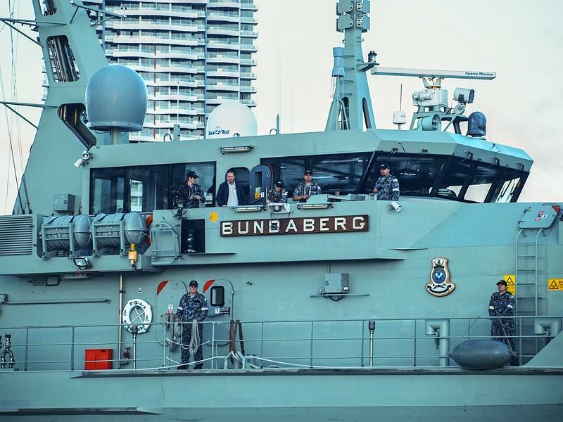 Warship Bundaberg. Editorial