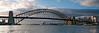 Sydney Harbour Bridge at Dawn.  Art photo digital download and wallpaper screensaver. DIY Print.