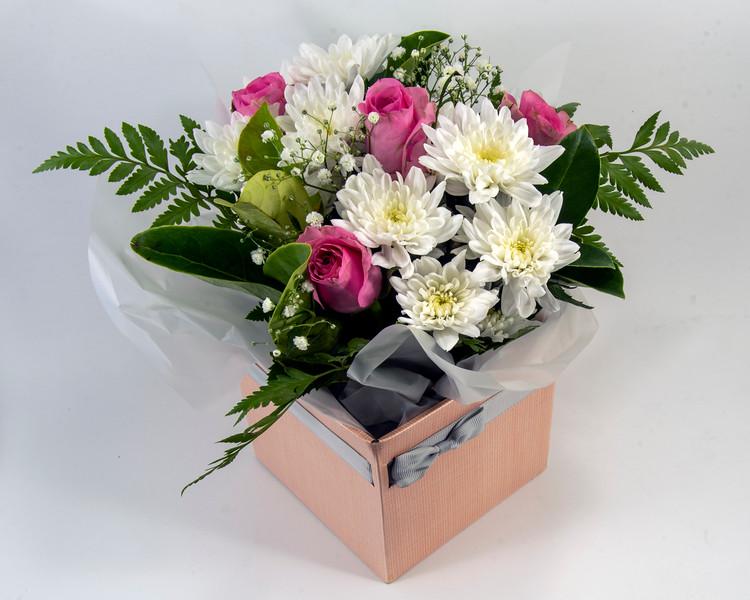 Stunning decorative mixed floral arrangment.