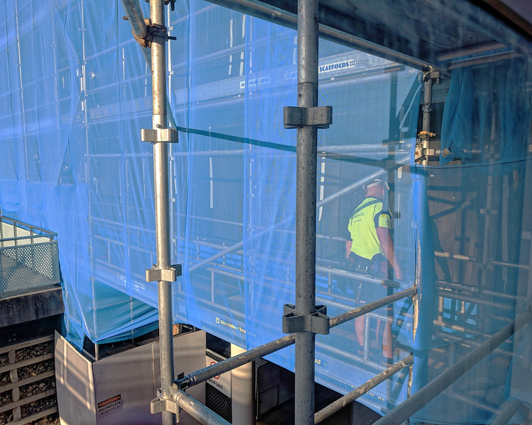 Gosford Hospital building progress H58ed October 2018.