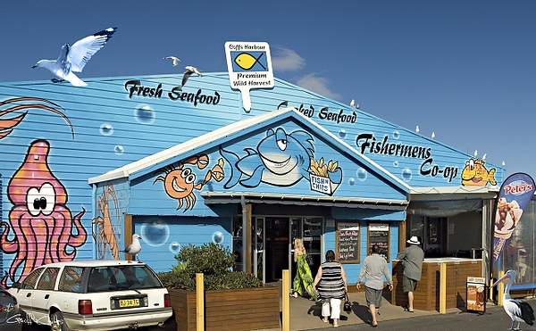 Fishing Co-op.Coffs Harbour Marina.Australia