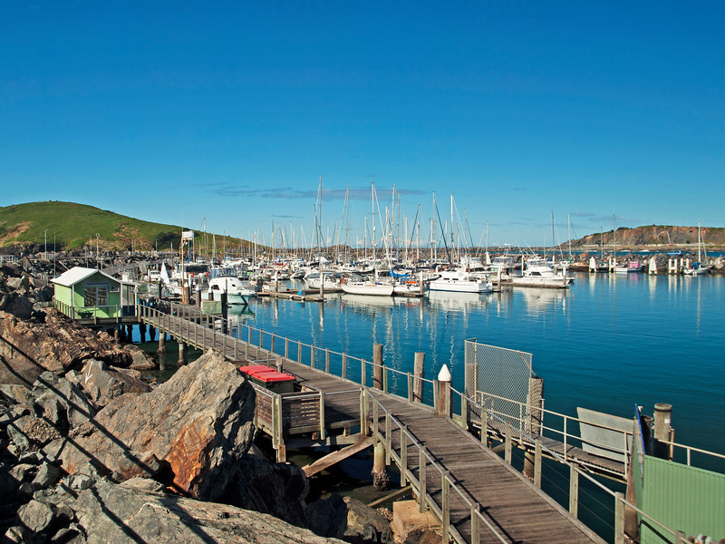 Coffs Harbour Marina. Nautical scene.