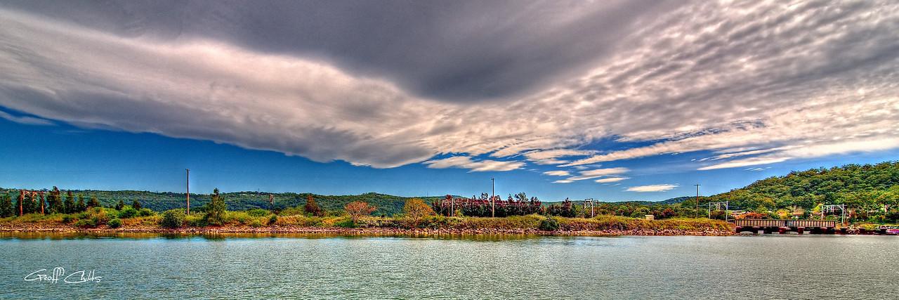 Cloudscape. Art photo.