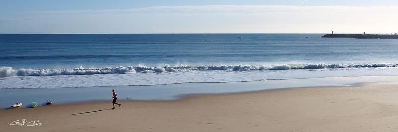 Mooloolaba Beach.
