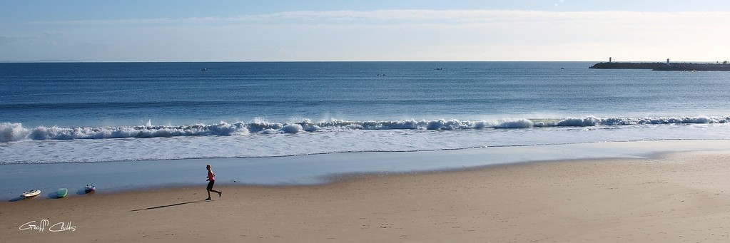 Mooloolaba Beach. Art photo digital download and wallpaper screensaver. DIY Print.