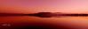 Pink Misty Sunrise. Art photo digital download and wallpaper screensaver. DIY Designer Print.