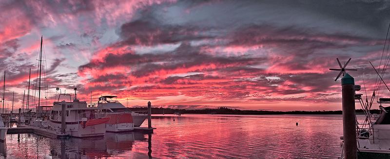 Pink Nautical Dawn.