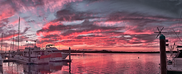 Pink Nautical Dawn.