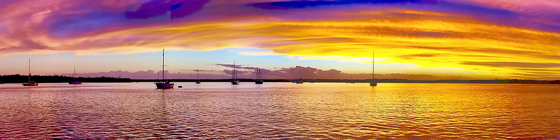 Grand Gold Dawn - Panorama.  Photo Art, Downloads, Prints, Gifts.