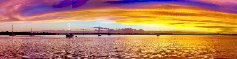 Grand Gold Dawn - Panorama.  Photo Art, Downloads, Prints, Gifts.