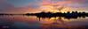 Sunrise silhouette photo. Art photo digital download and wallpaper screensaver. DIY Print.