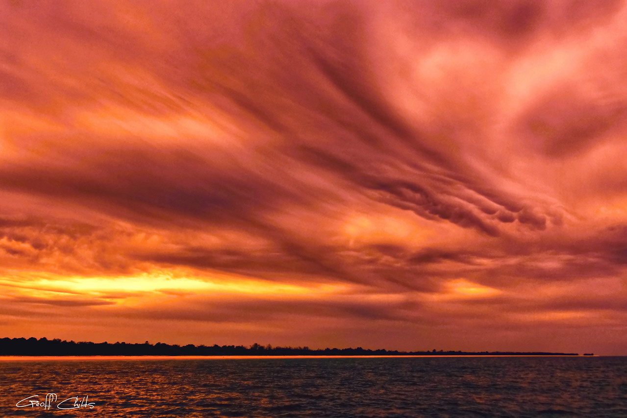 Surreal Cloudscape.