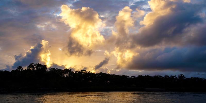 Magnificent white (CLOUD TYPE) cloud in blue sky. Australia.