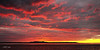 Crimson Sunset -  Art photo digital download and wallpaper screensaver. DIY Print.