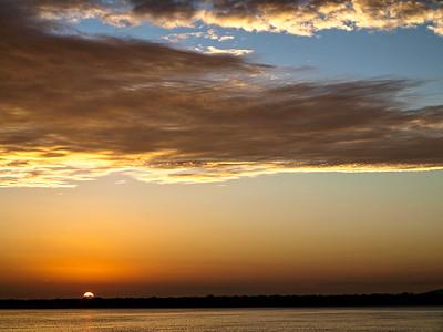 Golden Glow Sunrise Seascape Australia