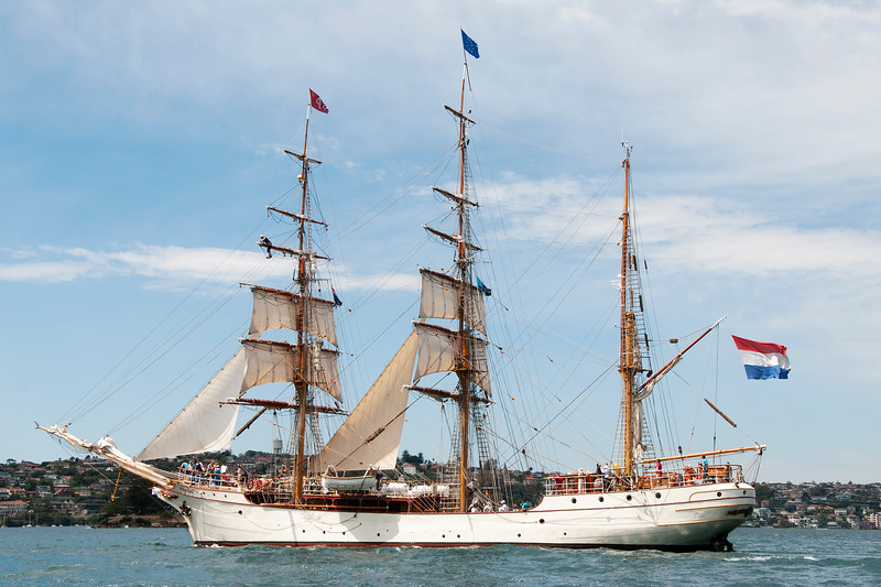 Tall Ship Barque Europa Sydney.