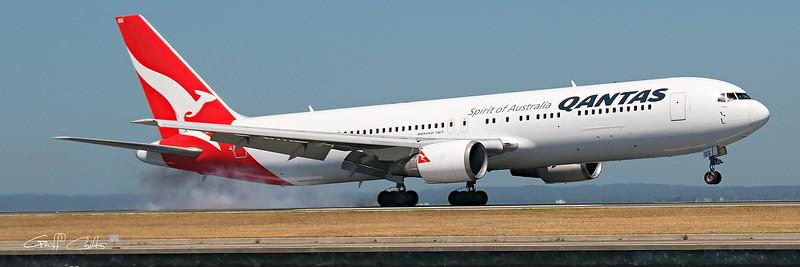 Touchdown at Sydney Airport