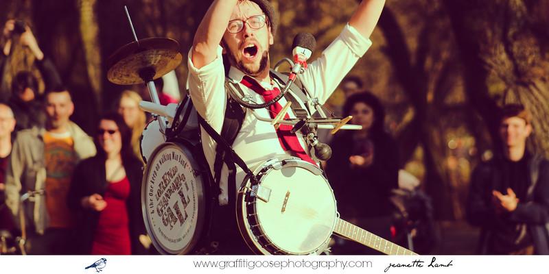 Italian Street Musician, Lorenzo Gianmario