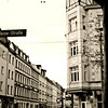 "Gutsmuths Strasse ~ Life of a Street ...When first built in 1878, GutsMuthsstraße was named, Mountain Road. The name was quickly changed to ""Turner Road,""  that same year after the incorporation of the city. Again, in 1894 it was renamed, "" GutsMuthsstraße""  -- (after the teacher JCF GutsMuths , 1759-1839). In 1873, the Leipzig lawyer and industry pioneer Dr. began C. Heine (1819-1888) with the construction of several industrial tracks, fanning developed by the Plagwitz station from the industrial area Plagwitz-Lindenau. Two of these tracks led up to the west side of the [then] mountain road. Just three years after its creation, on 24 December 1881, a new tram line opened in Leipzig connecting present day Jahnallee/Leibnizstraße – Waldplatz – Angerbrücke – Kuhturmstraße (>) / Dreilindenstraße () / Merseburger Straße ("