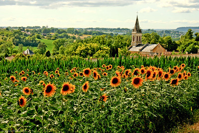 La Dordogne France, 2010