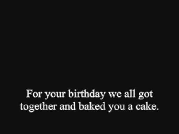 Birthday Mishap