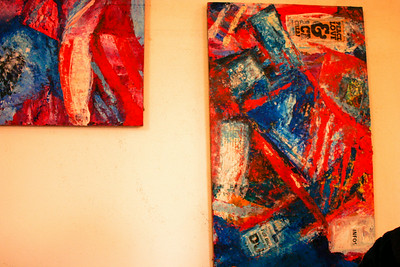 Consumerism 2010  Oil/Mixed on wood