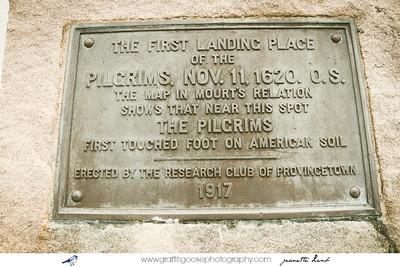 Pilgrim's Landing, Provincetown, Cape Cod, MA