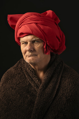 Man with Red Turban