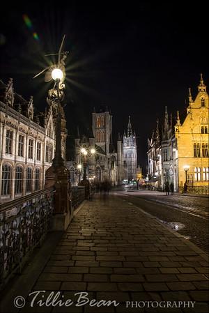 Ghent, Belgium. St Michielsbrug