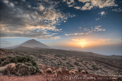 Mount Teide by Night