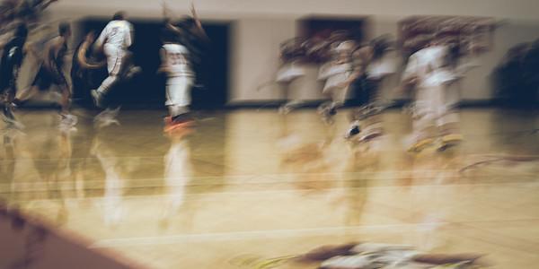 High School Basketball Game, USA