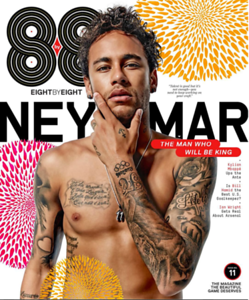 Neymar for 8by8 Magazine